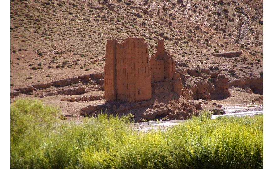 La traversée Nord sud de l'atlas Marocain