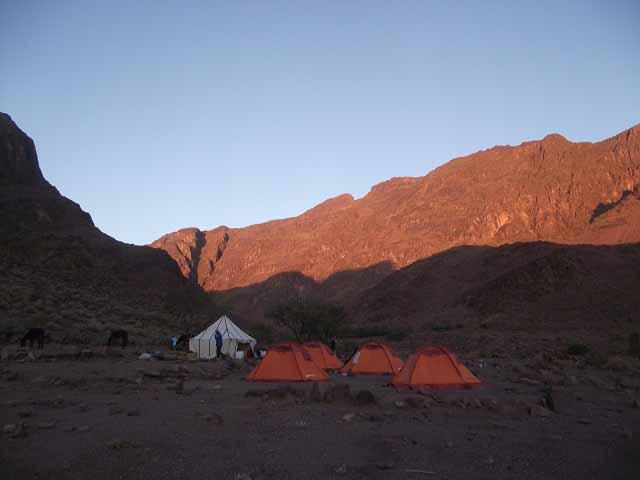Les pitons Rocheux et Oasis de Saghro