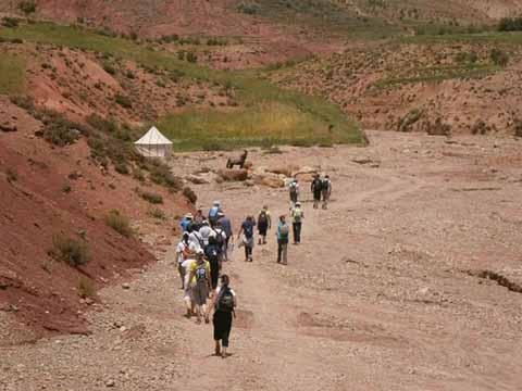 Voyage scolaire - Maroc, Rencontres dans l'Atlas