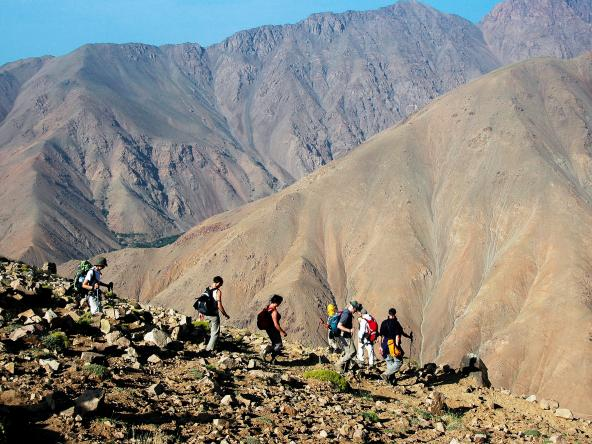 Le Mont du Toubkal 4167 m